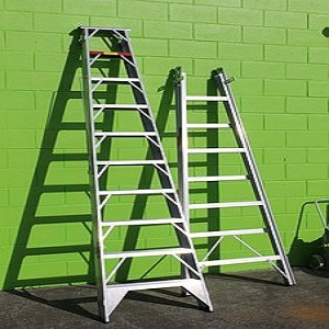 industrial steps and ladders
